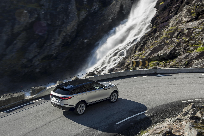 Range Rover Velar - Aerial View