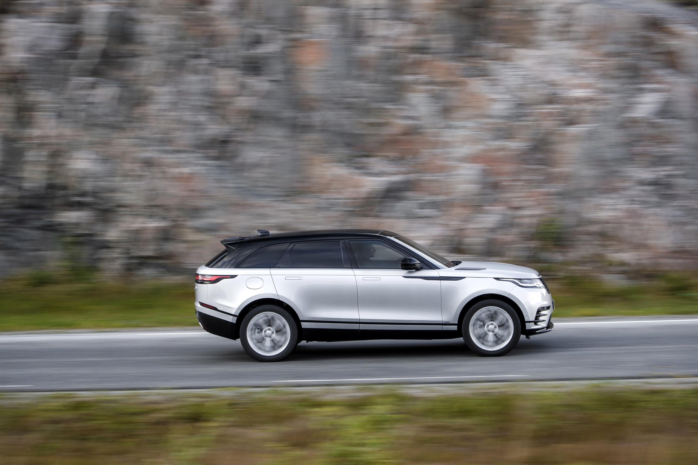 Range Rover Velar Side View