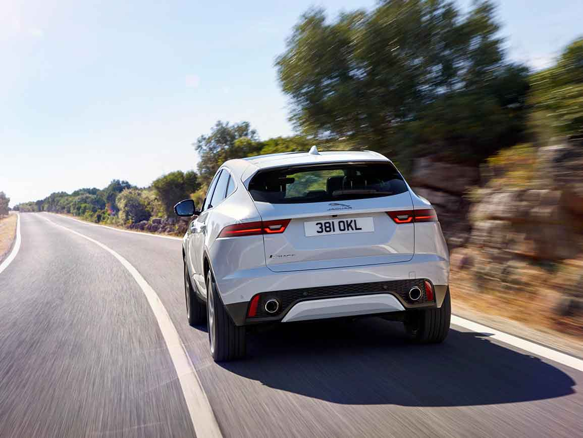Jaguar E-PACE Rear View