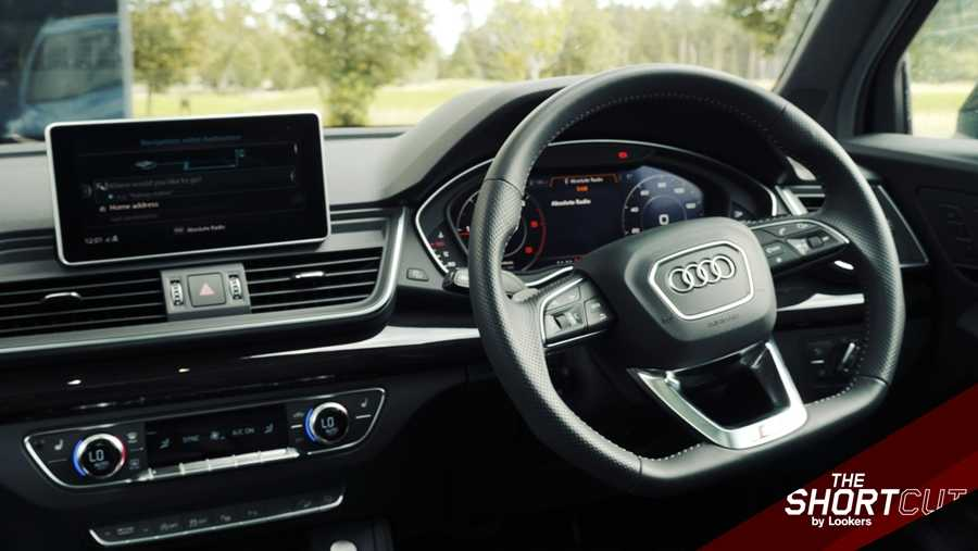 The Vorsprung has Audi's Virtual Cockpit as standard