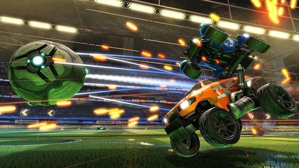 Rocket League, where Hot Wheels meets football