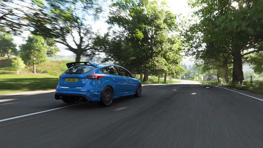 Forza Horizon 4 is an open-world racer, set in condensed map of the UK