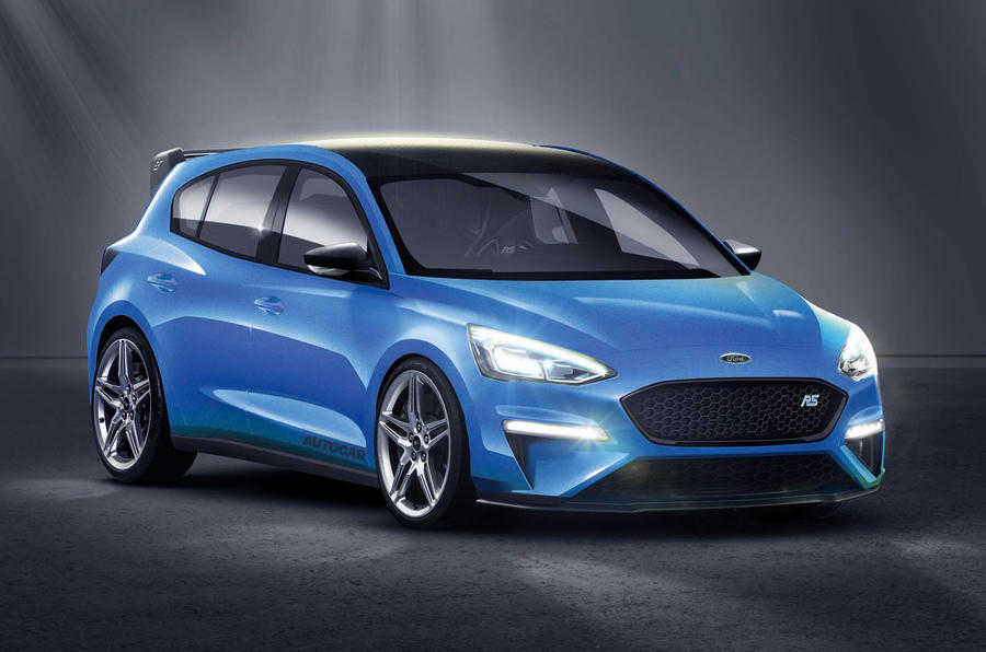 Autocar's render of how the 2020 Ford Focus RS could look - image from autocar.co.uk