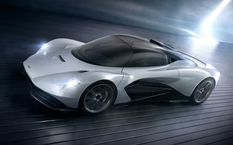 The Aston Martin Valhalla - Bond's main car in the next movie