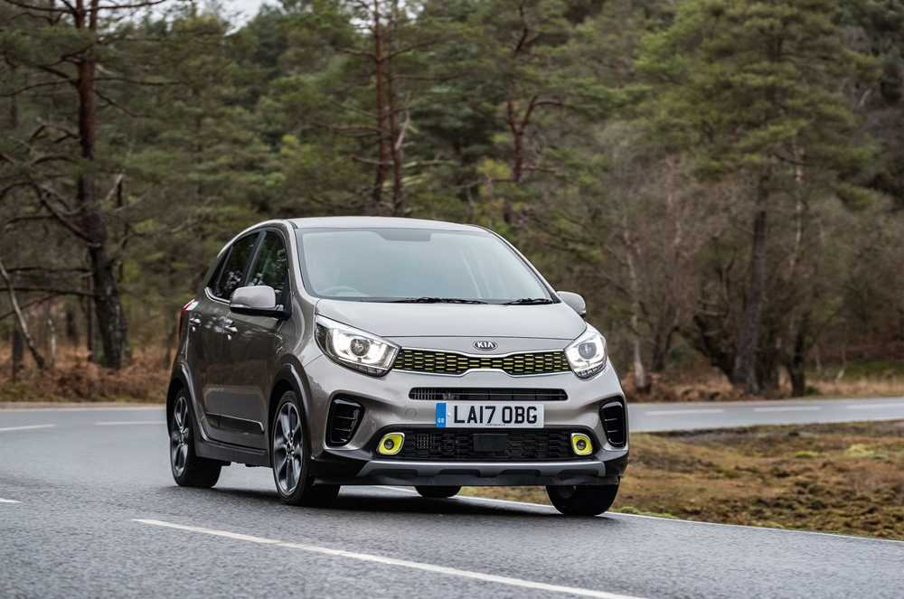 The Kia Picanto X-Line features SUV styling over the standard model