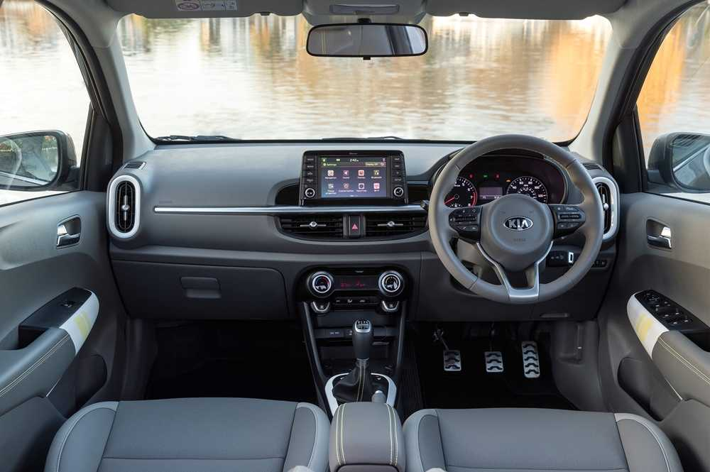 The X-Line comes with lime green detailing on the doors, steering wheel, armrests and around the gear stick