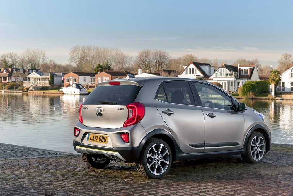 The X-Line is slightly larger than the standard Picanto