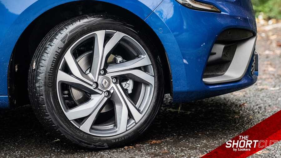Seventeen-inch alloys as standard on the RS Line