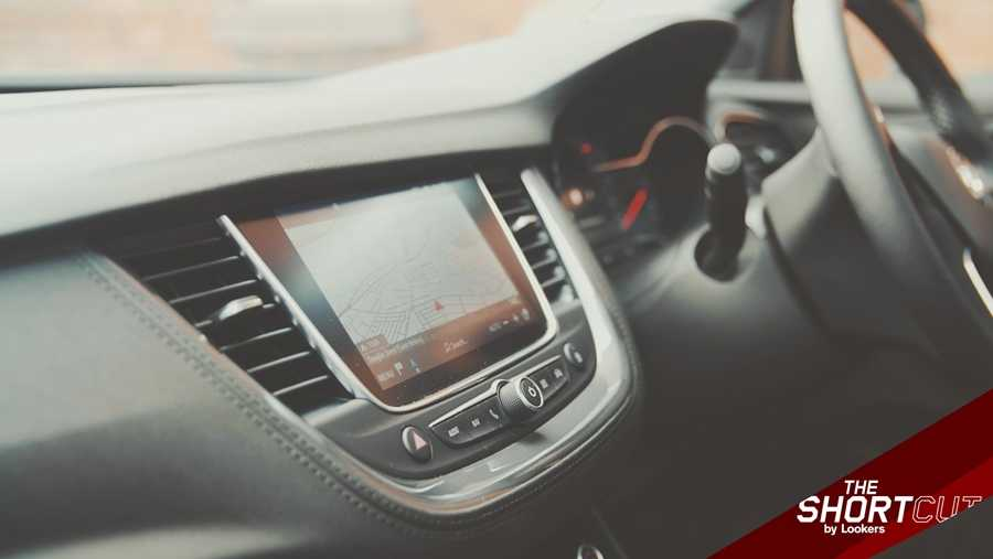 The Grandland X's infotainment is easy enough to use