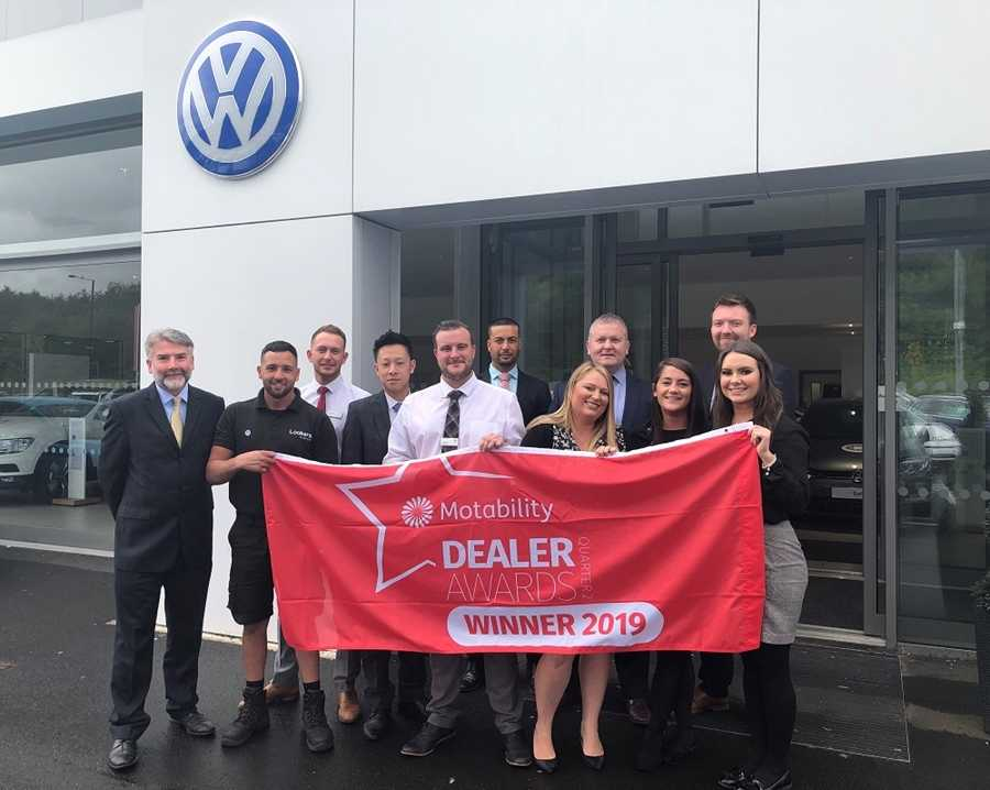 The award-winning team at Lookers VW Newcastle